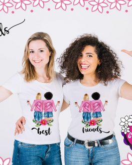 Camisetas Bests friends girls