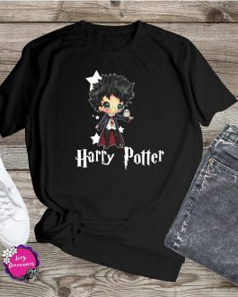 Camisetas Harry Potter Anime